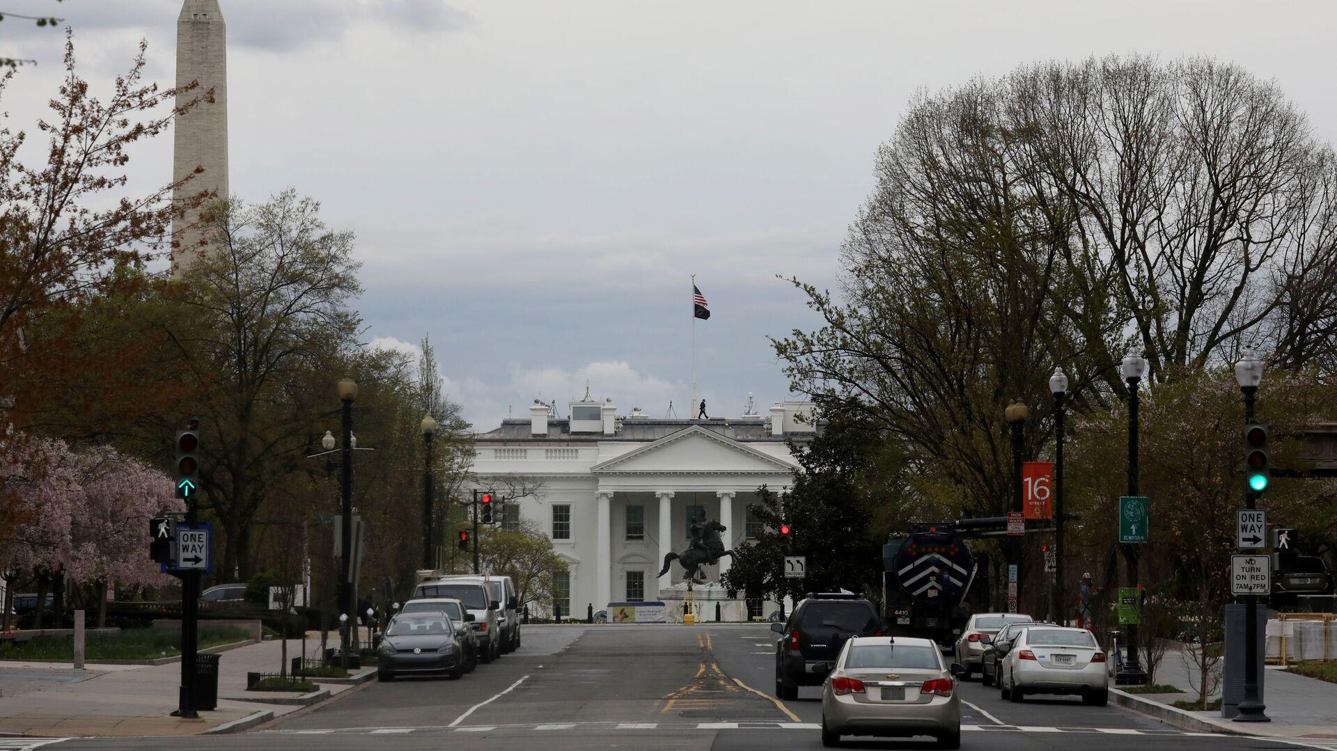 Biały Dom. Waszyngton, USA - Sputnik Polska, 1920, 28.07.2021