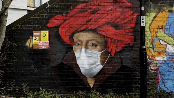 Graffiti w Londynie - Sputnik Polska