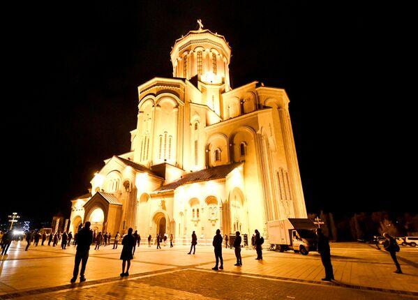 Wigilia paschalna w Tbilisi - Sputnik Polska