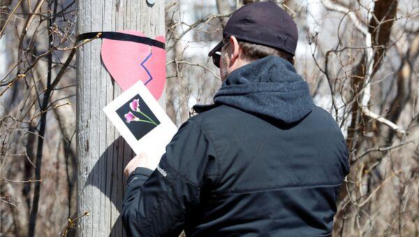 Upamiętnienie ofiar strzelca w Kanadzie - Sputnik Polska