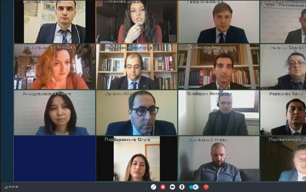 Wideokonferencja ministra spraw zagranicznych Rosji Siergieja Ławrowa, 21 kwietnia 2020 roku - Sputnik Polska