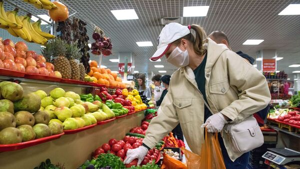 Bazar w Soczi - Sputnik Polska