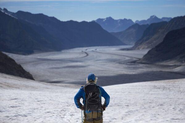 Aletschgletscher, największy lodowiec Alp - Sputnik Polska