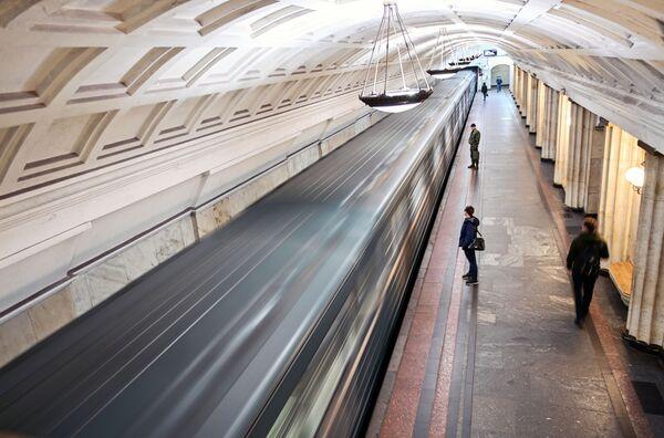 """Stacja moskiewskiego metra """"Ochotnyj riad"""" - Sputnik Polska"""