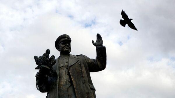 Zdemontowany pomnik Koniewa w Pradze - Sputnik Polska