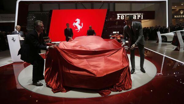 Prezentacja nowego auta Ferrari - Sputnik Polska