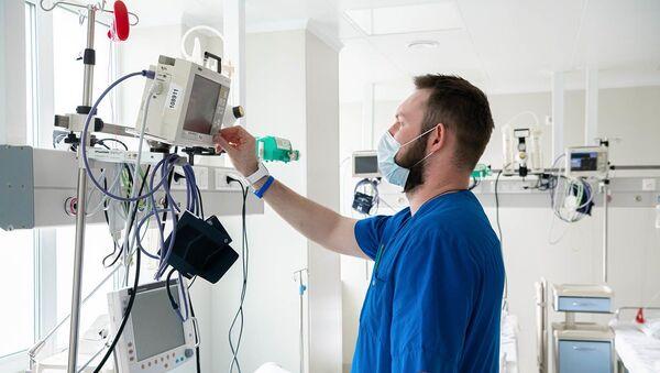 Szpital, w którym leczeni są pacjenci z koronawirusem - Sputnik Polska