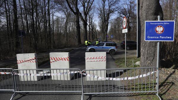Zamknięta granica Polski z Czechami - Sputnik Polska