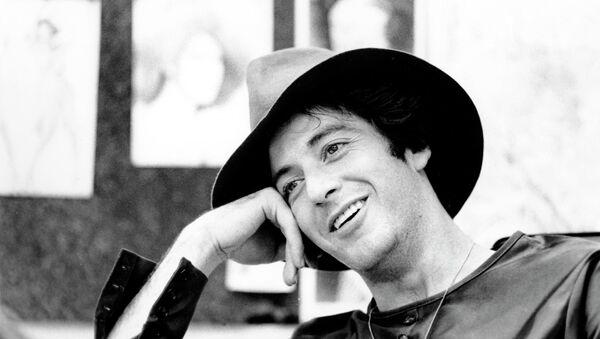 Aktor Al Pacino podczas wywiadu, 1973 - Sputnik Polska