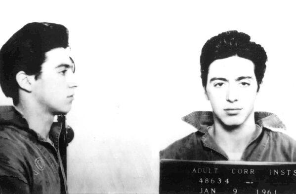 Aktor Al Pacino po aresztowaniu. 9 stycznia 1961 r - Sputnik Polska