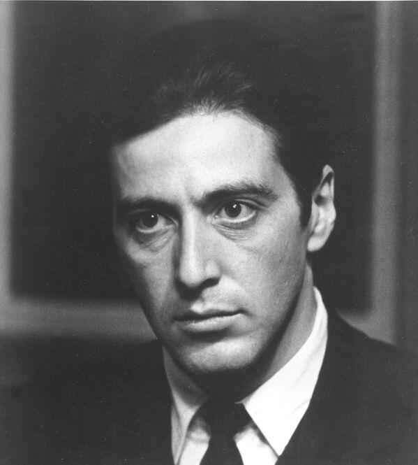 Aktor Al Pacino w filmie Ojciec chrzestny - Sputnik Polska