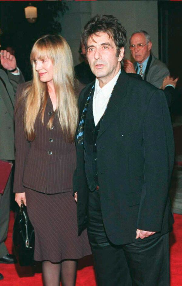 Aktor Al Pacino z przyjaciółką Lindl Hobbs - Sputnik Polska