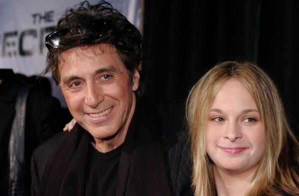 Aktor Al Pacino z córką Julią - Sputnik Polska