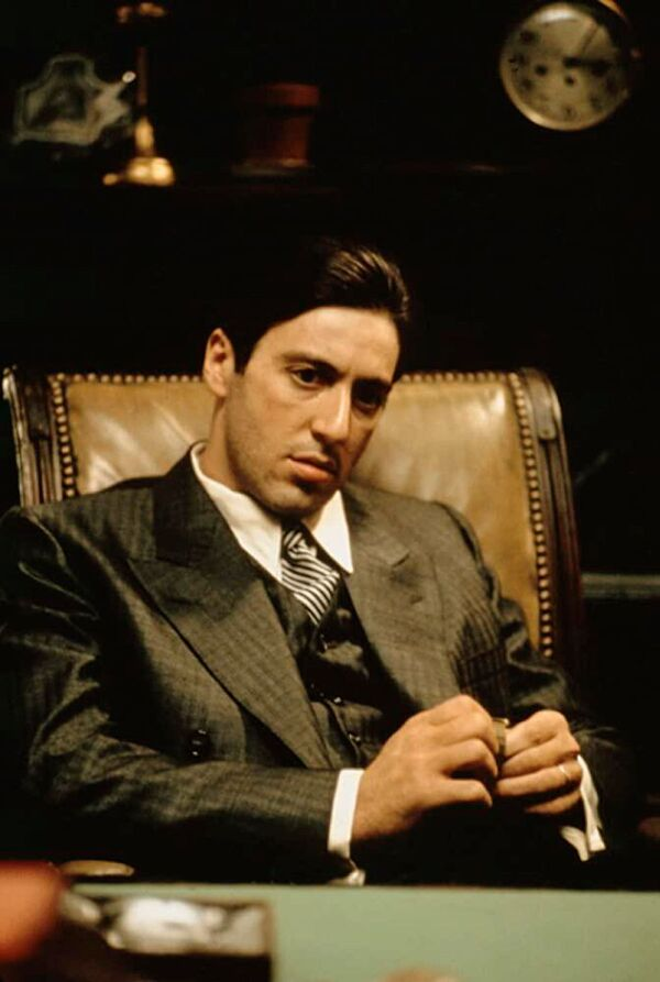 """Aktor Al Pacino jako Michael Corleone w """"Ojciec chrzestny"""" - Sputnik Polska"""