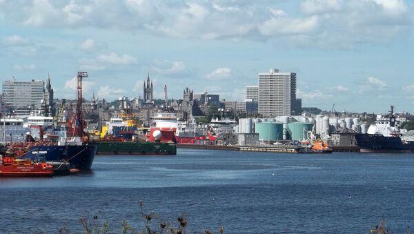 Brytyjski port Aberdeen - Sputnik Polska