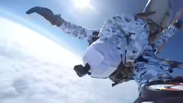 Rosyjcy spadochroniarze - Sputnik Polska