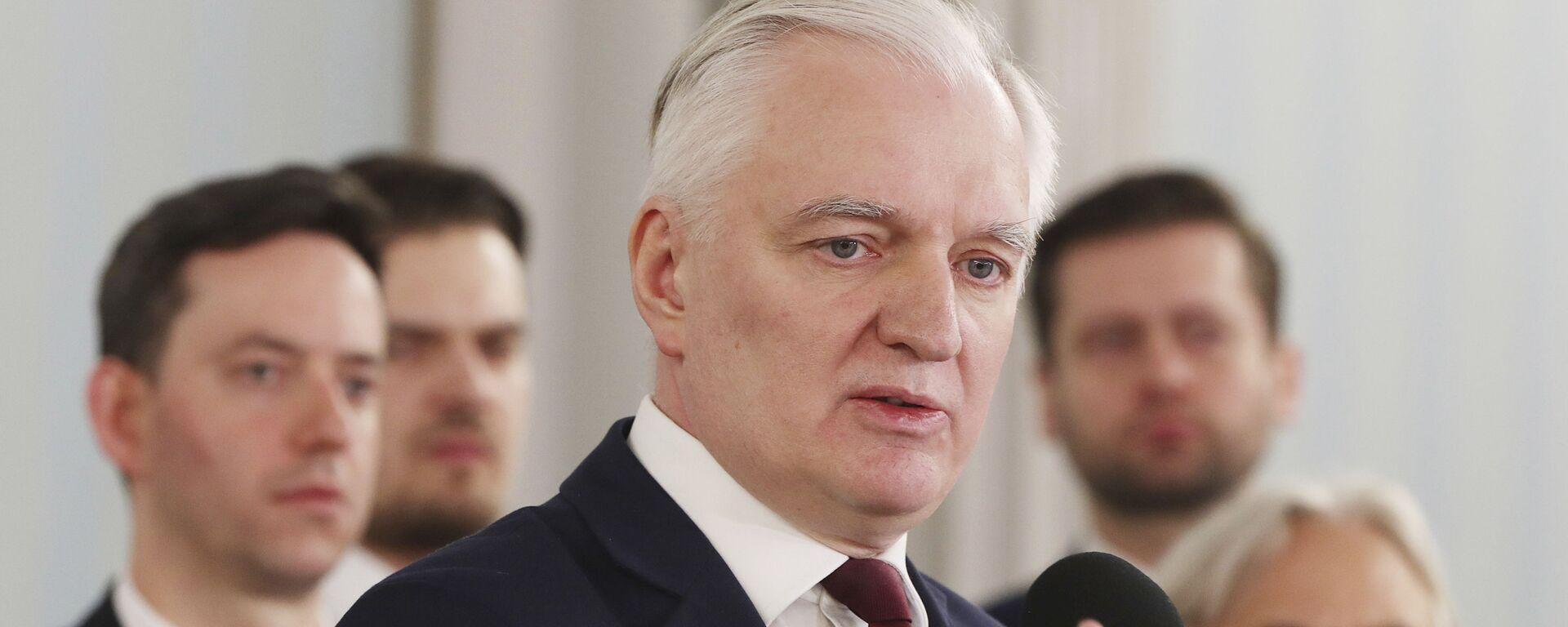 Jarosław Gowin - Sputnik Polska, 1920, 24.03.2021