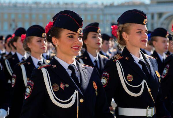 Próba Parady Zwycięstwa w 2018 roku w Petersburgu - Sputnik Polska
