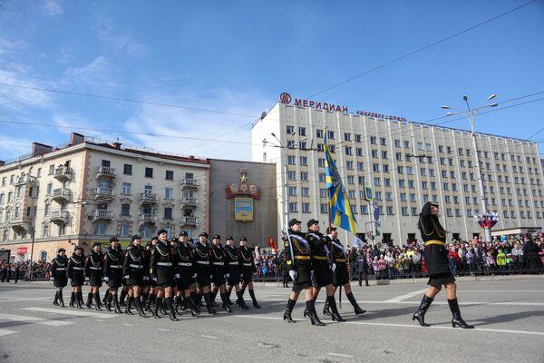 Parada w Murmańsku, 2017 rok - Sputnik Polska