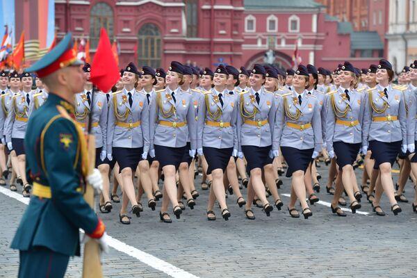 Próba parady na Placu Czerwonym - Sputnik Polska