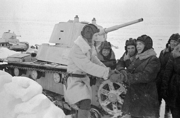 Lekki czołg T-26 - Sputnik Polska
