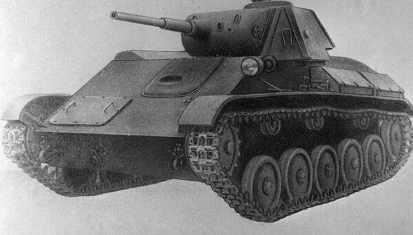Radziecki czołg Т-70 - Sputnik Polska