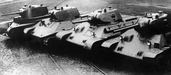Ewolucja radzieckich czołgów - Sputnik Polska