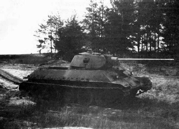 Radziecki czołg T-34-57 - Sputnik Polska