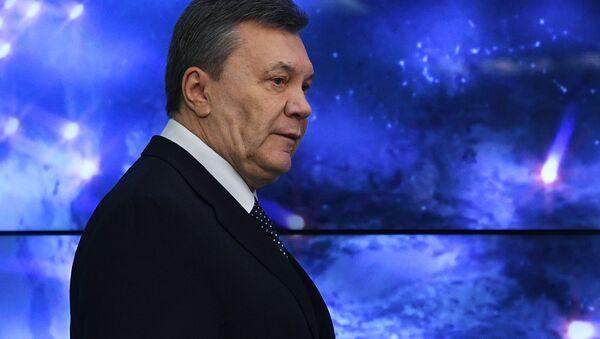 Były prezydent Ukrainy Wiktor Janukowycz. - Sputnik Polska