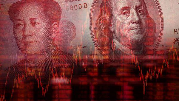 Chiński juan i amerykański dolar - Sputnik Polska