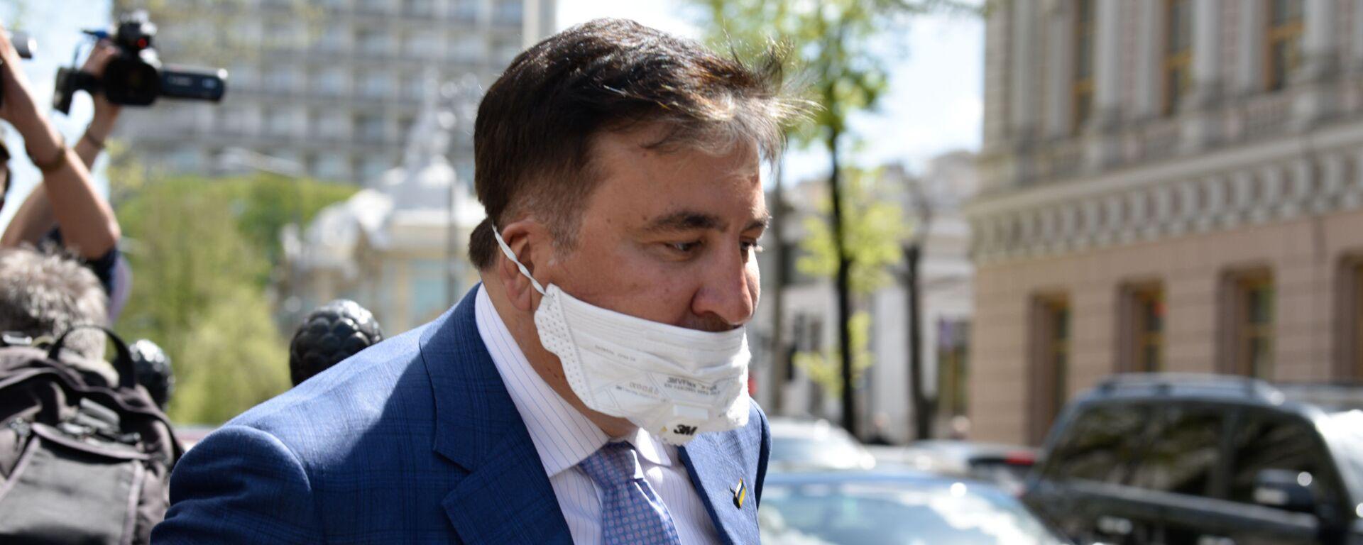 Michaił Saakaszwili - Sputnik Polska, 1920, 04.10.2021