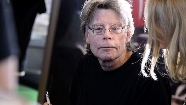 Amerykański pisarz Stephan King. - Sputnik Polska