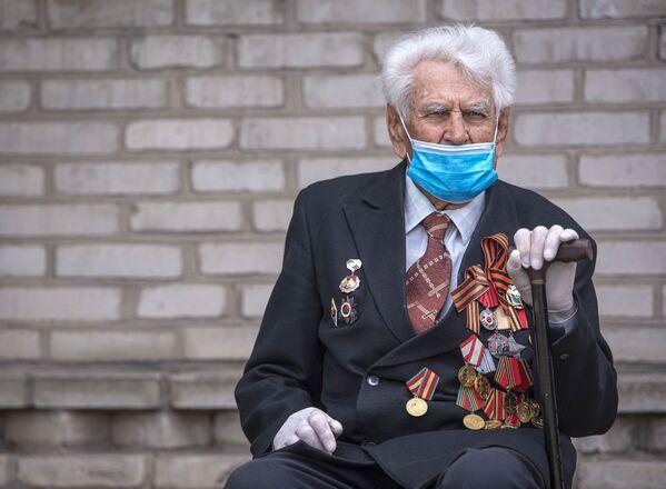 Weteran Wielkiej Wojny Ojczyźnianej w Biszkeku - Sputnik Polska