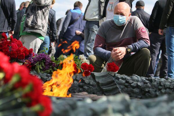 Obchody Dnia Zwycięstwa w Kijowie - Sputnik Polska