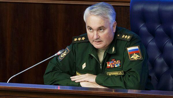 Przedstawiciel rosyjskiego sztabu generalnego generał Andriej Kartapołow - Sputnik Polska