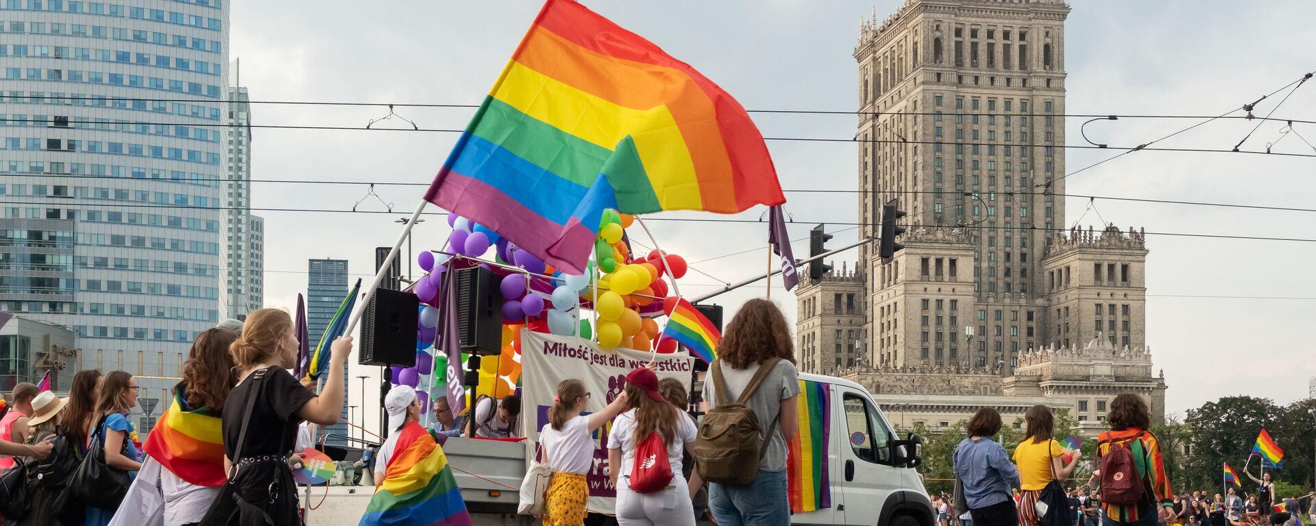 Parada LGBT w Warszawie - Sputnik Polska, 1920, 14.09.2021
