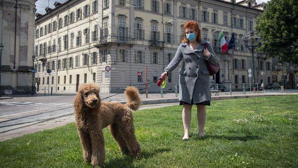 Dziewczyna z psem - Sputnik Polska