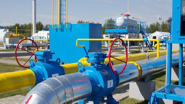 Kompresorowa stacja Gazpromu - Sputnik Polska