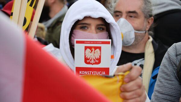 Protest przedsiębiorców w Warszawie - Sputnik Polska