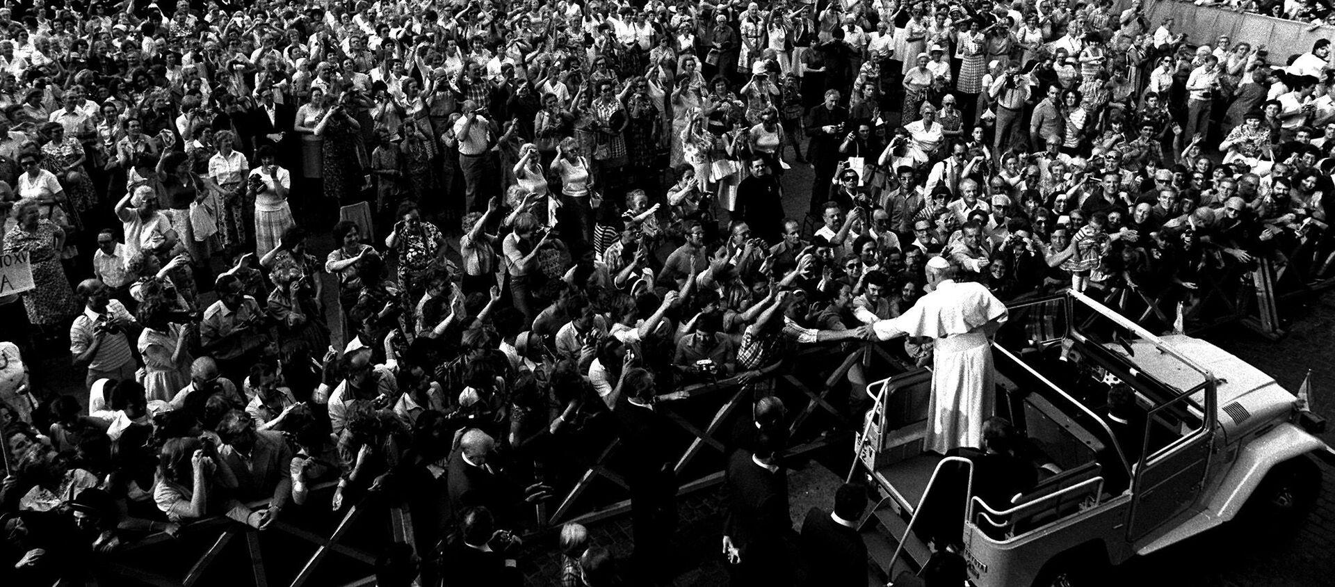 Jan Paweł II w Watykanie, 2005 rok - Sputnik Polska, 1920, 13.05.2021
