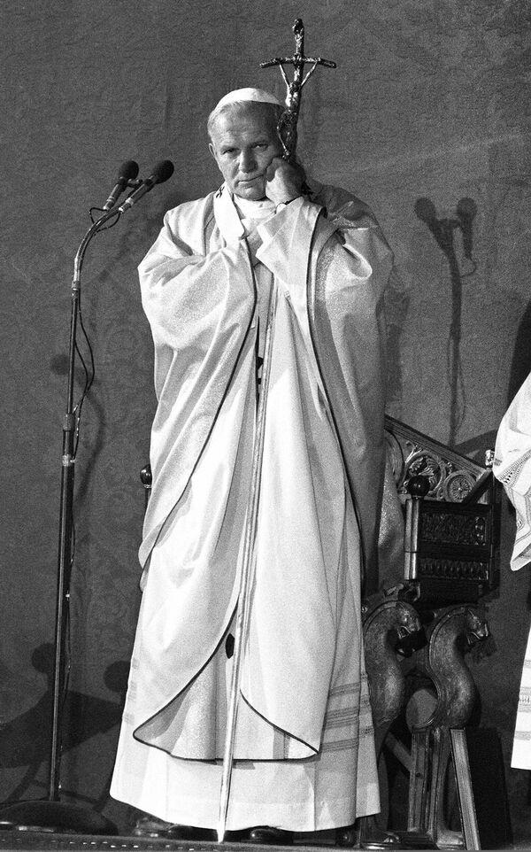 Jan Paweł II we Francji, 1980 rok - Sputnik Polska