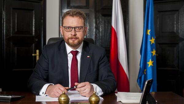 Minister zdrowia Łukasz Szumowski - Sputnik Polska