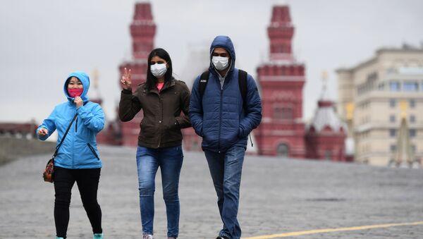Koronawirus w Moskwie - Sputnik Polska
