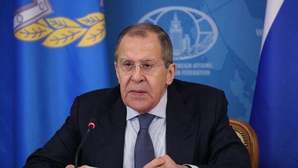 Minister spraw zagranicznych Rosji Siergiej Ławrow. - Sputnik Polska