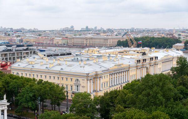 Biblioteka Prezydencka im. Jelcyna w Petersburgu - Sputnik Polska