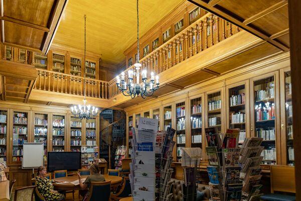 Biblioteka Majakowskiego w Petersburgu - Sputnik Polska