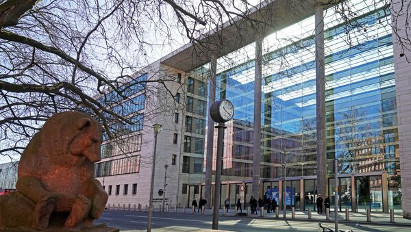 Siedziba MSZ Niemiec w Berlinie.  - Sputnik Polska