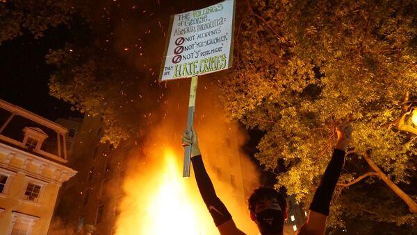 Protesty w Waszyngtonie - Sputnik Polska