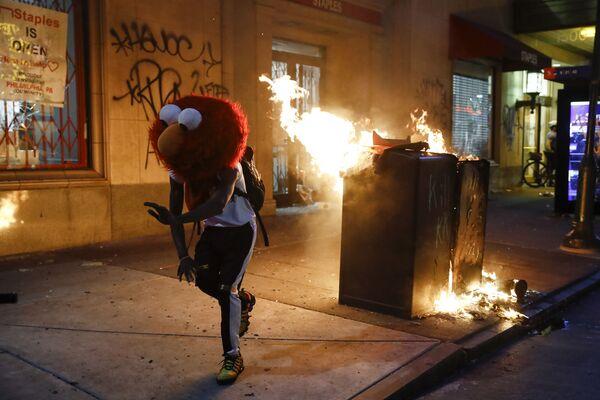 Protesty w Filadelfii  - Sputnik Polska