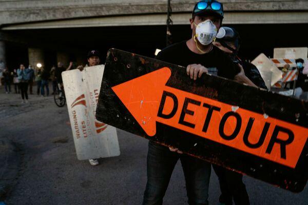 Protesty w Minneapolis - Sputnik Polska